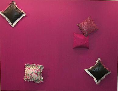 Untitled (cushion painting)