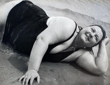 Coney Island Bather, New York (Reclining)