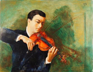 Portrait du Violoniste Milstein