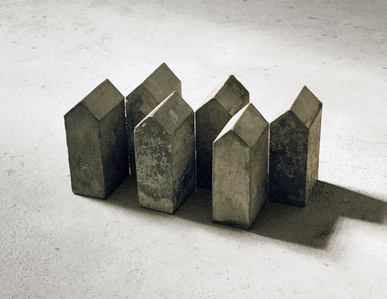 Sechs Aneinandergereihte (six aligned)