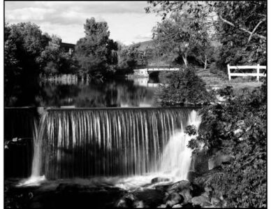Peron Creek, Upper Falls