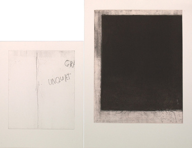 The Unquiet Grave	diptych