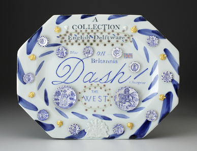 English Delftware: A Collection of Blue Dash Chargers