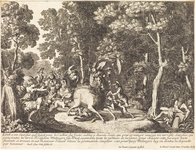 Atlanta and Meleager Hunting the Boar of Calydon