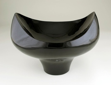"""Black Bowl for Colorful Contents"""
