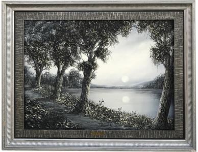 3D - Moonlit River