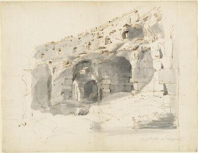 Ruins of a Roman Amphitheater
