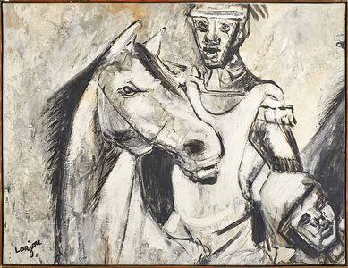 Untitled (Man with Horse)