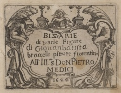 "Title Page for ""Bizzarie di varie Figure"""