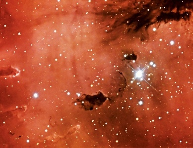 NGC 281, The Pacman Nebula, Kitt Peak National Observatory, Tohono O'odham Reservation, Arizona