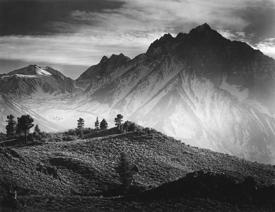 Round Valley & Mt Tom, Eastern Sierra, 1974