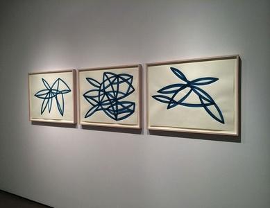 Untitled (Monochromes Blue) Installation