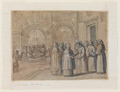 Meeting of Saints Francis and Clara
