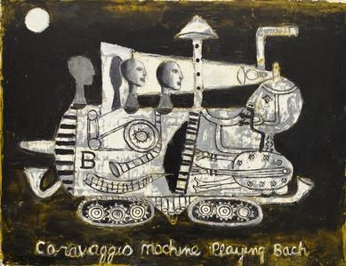 Caravaggio Machine playing Bach