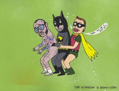 Teary Richardson vs Batman & Robin