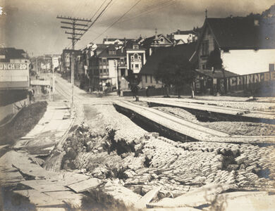Earthquake Damage to Union Street