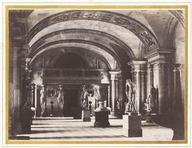 Salle des Cariatides, au Musée du Louvre