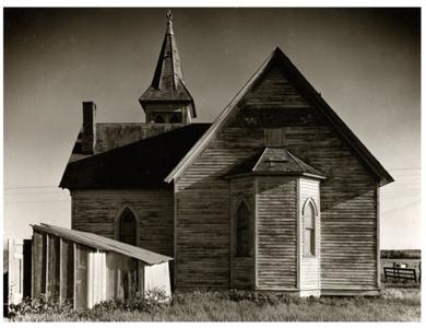 Church, Near Milford, Nebraska, 1947