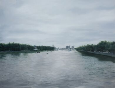 Albert Bridge From a Distant