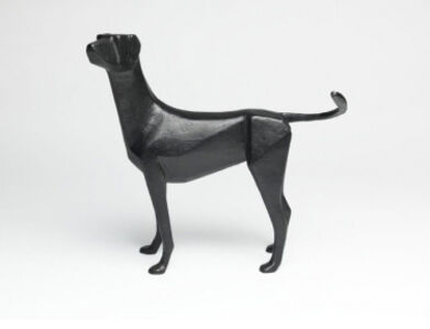 Small Standing Dog I