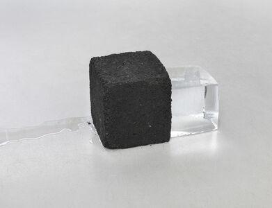 to vanish (asphalt, ice)
