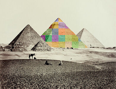 After Francis Frith, Pyramid II