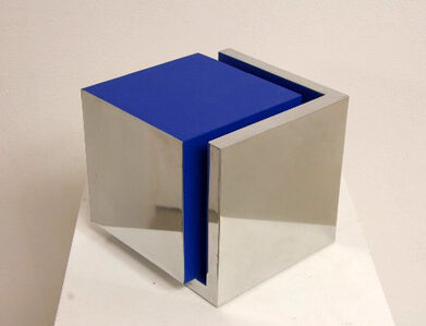Captured Cube Blue