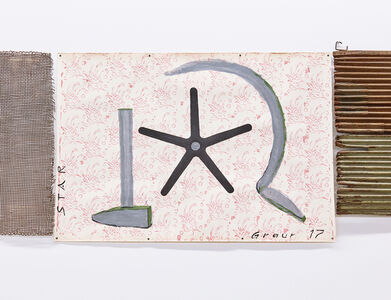 Untitled (hammer, sickle, star)