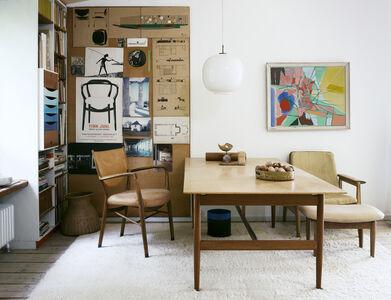 Living room, Finn Juhl House