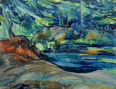 Forest Pool (No.3 Epping Forest Series)