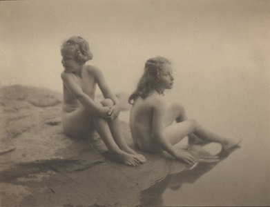 Water Babies (Twin Lakes, CT, Florence Johns and Lina Biggar)