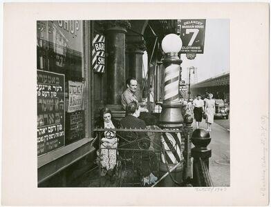 Barbers, Delancy Street, NYC