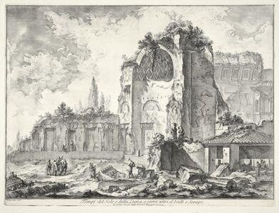 Tempj del Sole e della Luna, o come altri, d'Iside e Serapi