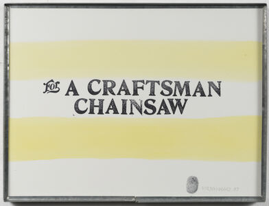 For a Craftsman Chainsaw