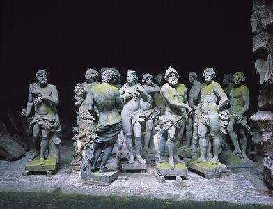 Herkules Oktogon III: Statuary
