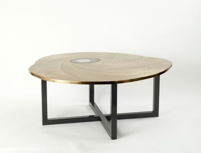 Tourbillon Coffee Table by Franck Chartrain