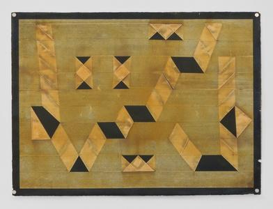 Untitled (Folded Tape Releifs)