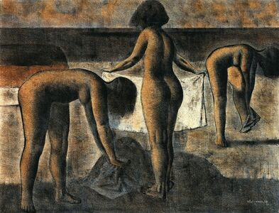 Tres bañistas [Three Bathers]