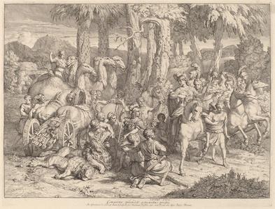 Semiramis on the Lion Hunt