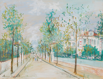 Avenue Rozée à Sannois (Seine-et-Oise)