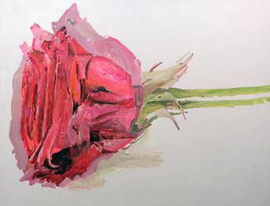 Duas Rosas Deitadas