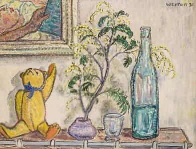 Mimosa and Teddy Bear