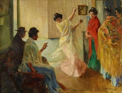 "L'école de ""baile"" à Grenade (Dance School in Granada)"