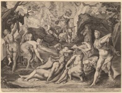Diana Surprised by Actaeon