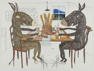 Dinner Table of Donkey