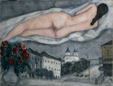 The Nude Above Vitebsk (Le nu au-dessus de Vitebsk)
