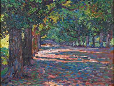 Untitled (Tree Lined Path)