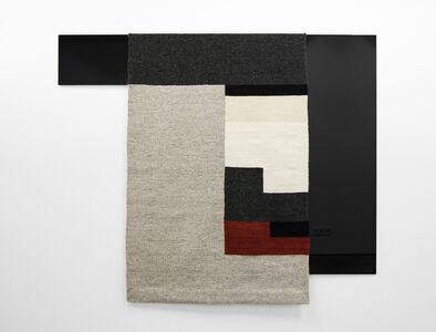 Parallel Planar Panel (dark grey, light grey, white, off-white, rust, black)