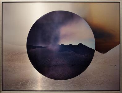Mt. Bromo at Night Circle Reversed