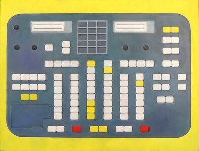 Mir Station. Control Desk